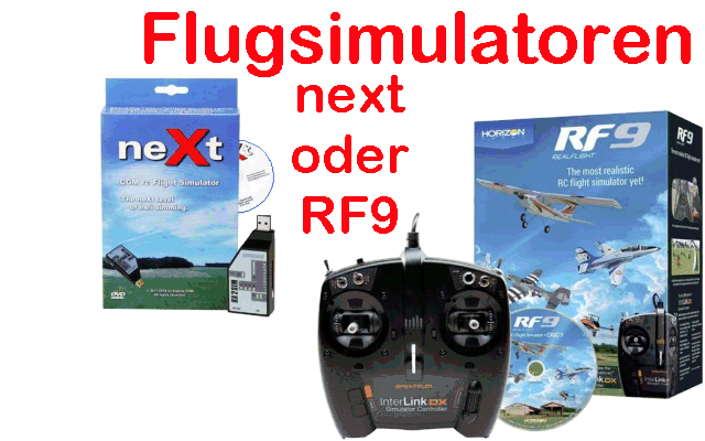 REALFLIGHT RF-9 w/Spektrum Controler